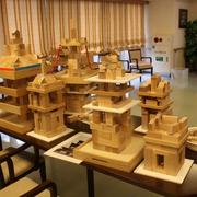 積木 五重塔の画像